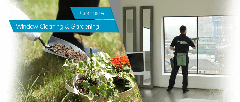 Window Cleaning + Gardening Get 20% OFF