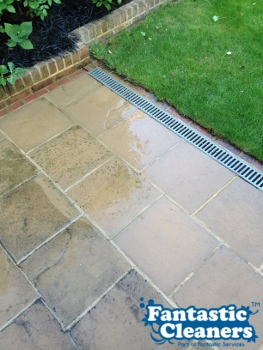 clean patio in London