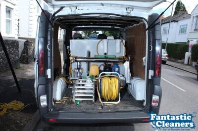 Fantastic Window Cleaners Van